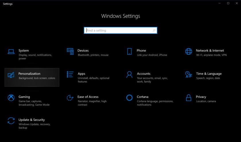 كيفية تفعيل الوضع الليلي في ويندوز 10 و ميكروسوفت اوفيس