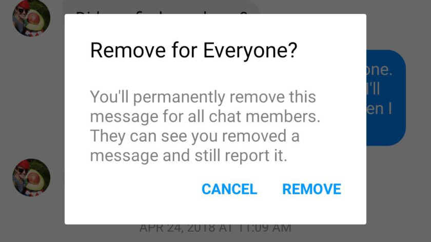 كيفية مسح الرسائل المرسلة علي الفيسبوك